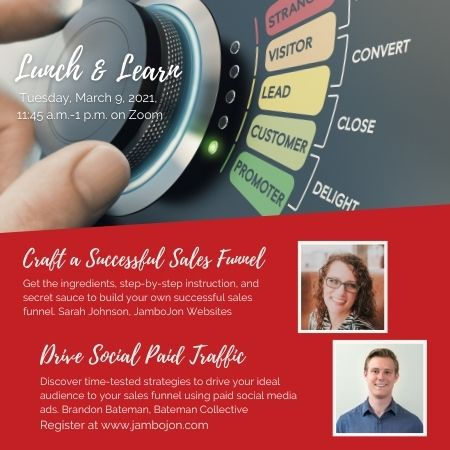 Lunch and Learn description for March
