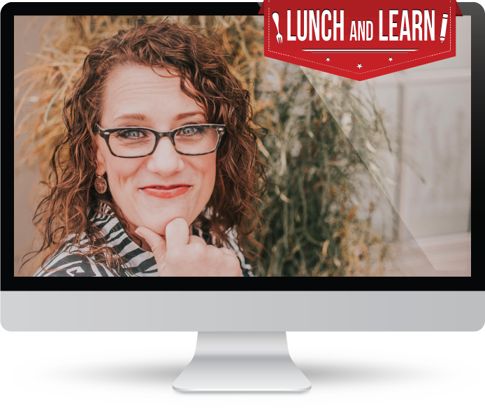 Sarah Johnson hosts a lunch and learn