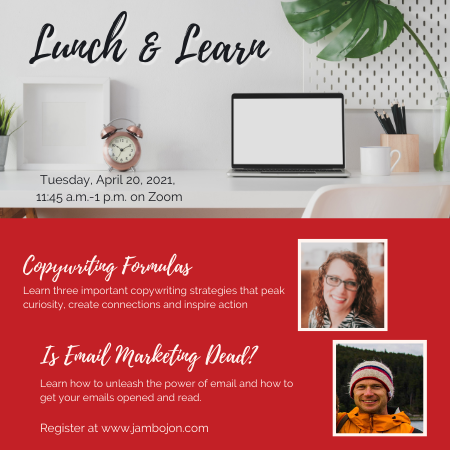 April Lunch and Learn Image